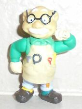 Teddy Ruxpin Alchemy Pvc Figure Newton Gimmick Wendy'S Toy 1986/1987