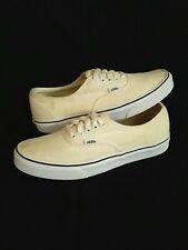 Vans Authentic Off White Mens Shoes Size 10 GUC