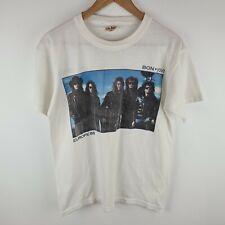 Vintage Bon Jovi T-shirt Caliber - The Brotherhood Tour Europe 88 1988 - Medium