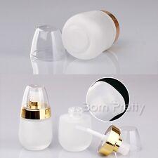 30ml Glass Makeup Bottle Empty Portable Mini Dispenser Refillable Bottle