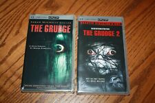 Lot of 2 The Grudge 1 & 2 PSP UMD New Sarah Michelle Gellar