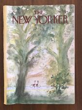 1979 May 7 The New Yorker Magazine Tandem Bicycle Sempe