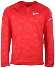 Nike Men's Baseball Vapor Long Sleeve Windshirt - University Red - 2Xl Nwt