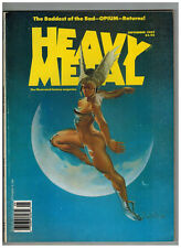 Heavy Metal The Illustrated Fantasy Magazine September 1989 Opium by Torres