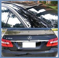 Carbon Fiber 10-16 M BENZ W212 E350 E550 E63 OE Roof + AMG Trunk Spoiler Combo