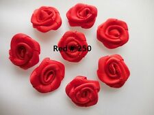 1cm (10mm) Rose Buds, 17 Colours, Packets of 10 and 25 by Berisfords