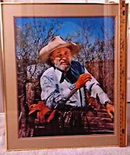 """LARGE GALLERY SIZE PHOTO PORTRAIT - SIGNED BY ARTIST ETTORE """"TED"""" DeGRAZIA 1979"""