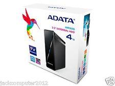 """Brand New Adata HM900 USB 3.0 3.5"""" External Hard Drive 4TB Mac WINDOWS TV RECORD"""