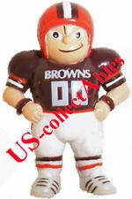 NFL CLEVELAND BROWNS Football Player Original LiL Sports Brat Keychain Souvenir