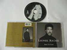 Lionel Richie - back to front - CD Compact Disc