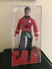 Star Trek Vintage Mego Doll (Scottie) in Display Case (Very nice)
