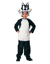 Kids Sylvester Cat Looney Tunes Costume M Age 5-7 Height 127-137 cm