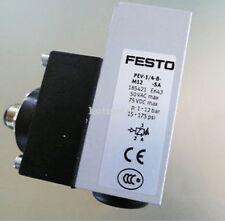 FESTO PEV-1/4-B-M12-SA Pressure Switch 185421,New