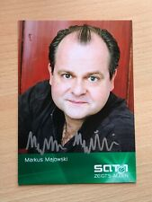 Autogrammkarte - MARKUS MAJOWSKI - COMEDY - orig. signiert #464