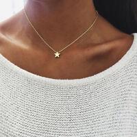 Feine Herz Stern Halskette Boho Silber Gold Filigran Silber