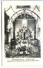 CP 02 Aisne - Rougeries - 12 Août 1928 - Bénédiction Statue de Ste Thérèse - e