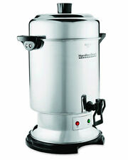 Coffee Urn Commercial 60 Cup Stainless Steel Dispenser. D50065 Hamilton Beach