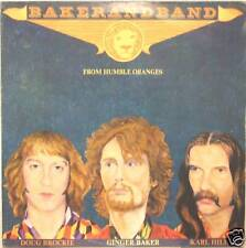 """GINGER BAKER """"FROM HUMBLE ORANGES"""" lp Italy promo"""