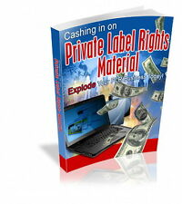 Make More Money With PRIVATE LABEL RIGHTS MATERIAL - Explode Your PLR Bus. (CD)