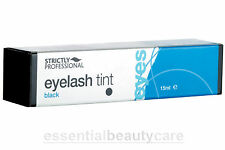 Strictly Professional 15ml Eye Lash EyeLash and Brow Tinting Dye in BLACK