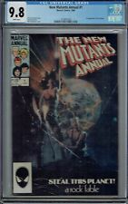 CGC 9.8 NEW MUTANTS ANNUAL #1 WHITE PAGES 1ST APPEARANCE LILA CHENEY