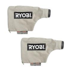 Ryobi P450 2 Pack of Genuine Oem Replacement Dust Bags # 204443001-2Pk
