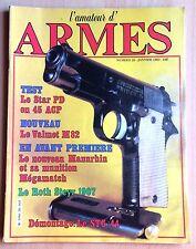 L'AMATEUR D'ARMES N° 20 / FUSIL,CARABINE,PISTOLET,REVOLVER,COLT,COUTEAU,TIR