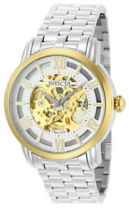 Invicta Objet d' Art 22627 Men's Round Automatic Roman Numeral Analog Watch