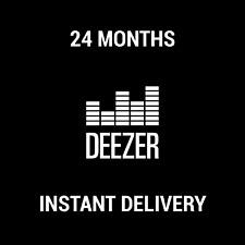 DEEZER PREMIUM SUBSCRIPTION / 24 MONTHS / INSTANT DELIVERY / WORLDWIDE