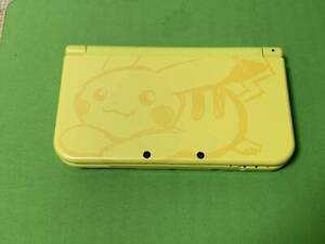 Nintendo 3DS LL Pikachu Yellow Pokemon Japan Limited Model Console only