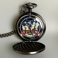 【Rare】 SEGA Sonic the Hedgehog Pocket watch 20th limited Edition Japan