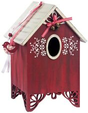Cute Vogelhäuschen RED BIRDHOUSE Deko