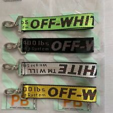 Off White belt keychain Yellow silver Red