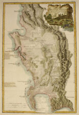 1789 | southern AFRICA Delarochette | large and fine h/c map | Cape of Good Hope
