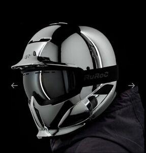 RG1-DX HELMET - CHROME 19/20, Size M/L Winter sports helmet NEW RRP £279.99