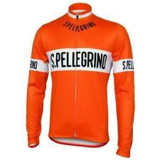 1976 San Pellegrino Retro Cycling Jersey Long Sleeve Cycling Long Sleeve Jersey