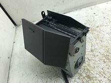 JDM SUBARU SVX ALCYONE WOOD TYPE CONSOLE BOX WITH SUBARU CASSETTE PLAYER OEM