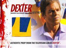 Dexter Season 5&6 Prop Relic DP5 Jordan Chase T-Shirt