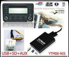 Yatour Digital CD Changer for Nissan Infiniti interface SD USB Aux Radio Adapter