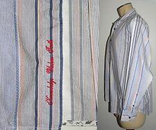 Robert Graham Men's Shirt Striped LONG Sleeve Button Down Contrast Cuffs size XL