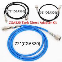 Soda Club To External CGA320 CO2 Tank Direct Adapter Hose For SodaStream