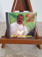 Wilfrido Vargas - Usted Se Queda Aqui (CD, Jan-1996, T.H. Rodven)*Like New*