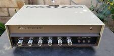 Vintage Lafayette Solid State PA-50B pre-amp Power Amp Ecualizador Mezclador Mic funciona
