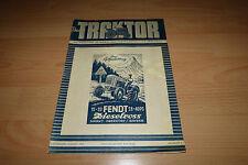 Original Der Traktor Nr.8/1952 TB Fendt Dieselross