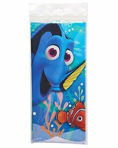 Disney Finding Dory Nemo Birthday Party Decor Tablecloth Plastic Table Cover New