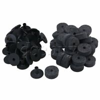 Black Felt Washers + Plastic Flanged Cymbal Sleeves for Drum Set of 20