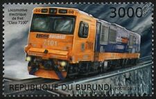 Pacific National Class 7100 Electric Rail Freight Locomotive Train Stamp