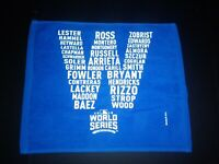 OFFICIAL 2016 World Series Chicago Cubs Wrigley Field Playoffs (SGA) Rally Towel
