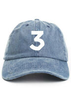 Chance 3 The Rapper Unstructured Dad Hat Adjustable Baseball Cap New- Denim