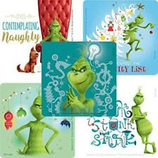 "25 The Grinch Christmas Stickers, 2.5""x2.5"" each, Party Favors"